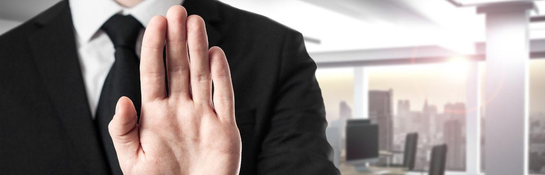 Pförtner verbietet Zutritt zu Meetingraum - GSK Veranstaltungsservice